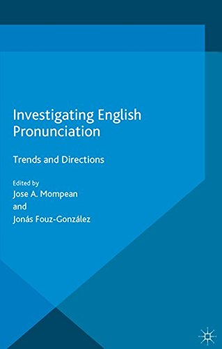 9781349564064: Investigating English Pronunciation: Trends and Directions