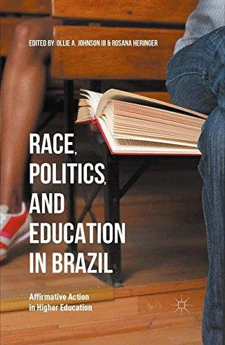 9781349570430: Race, Politics, and Education in Brazil: Affirmative Action in Higher Education