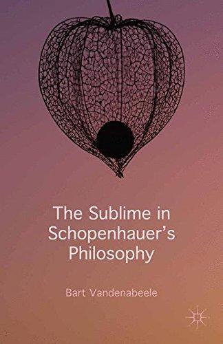 9781349578290: The Sublime in Schopenhauer's Philosophy