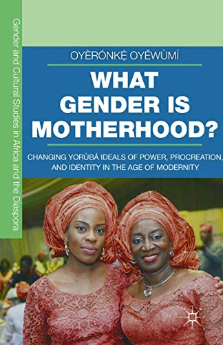 9781349580514: What Gender is Motherhood?: Changing Yorùbá Ideals of Power, Procreation, and Identity in the Age of Modernity (Gender and Cultural Studies in Africa and the Diaspora)