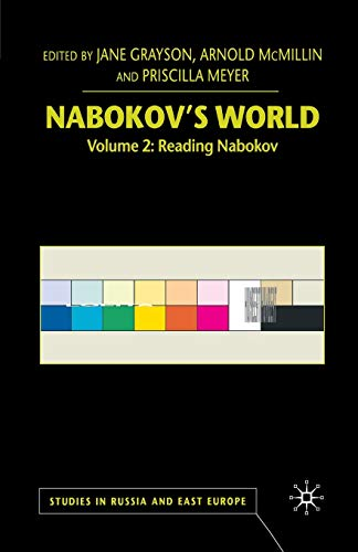9781349664375: Nabokov's World: Volume 2: Reading Nabokov (Studies in Russia and East Europe)