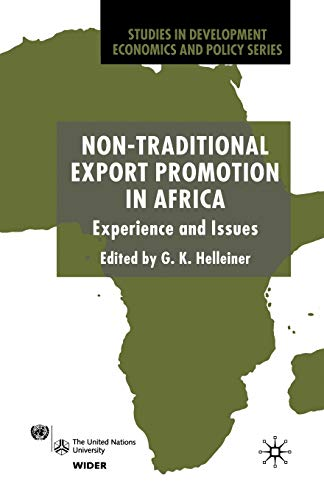 9781349664856: Non-Traditional Export Promotion in Africa: Experience and Issues (Studies in Development Economics and Policy)