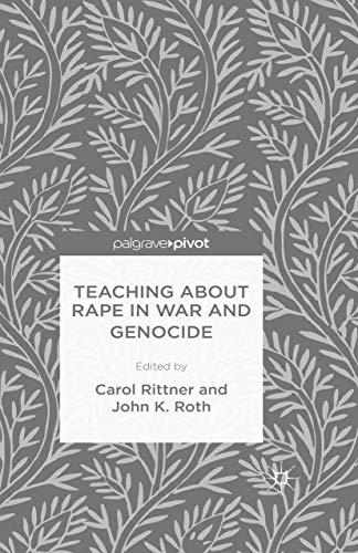 9781349698424: Teaching About Rape in War and Genocide