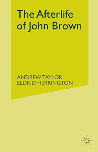 9781349999583: The Afterlife of John Brown