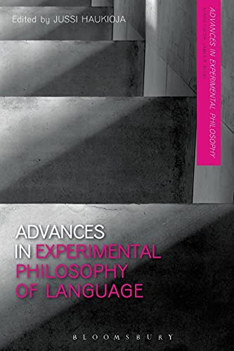 9781350014411: Advances in Experimental Philosophy of Language