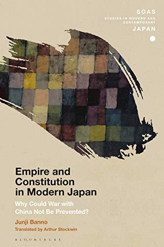 Japan) Banno  Junji (Tokyo University, Empire and Constitution in Modern Japan