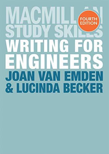 Writing for Engineers (Palgrave Study Skills): van Emden, Joan