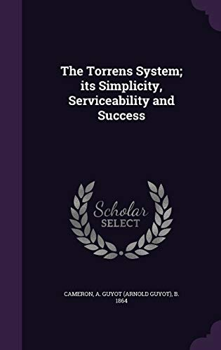 9781354255957: The Torrens System; its Simplicity, Serviceability and Success