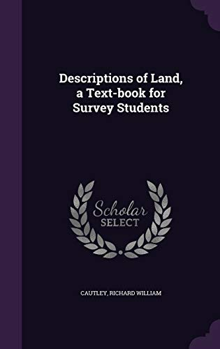 9781354282380: Descriptions of Land, a Text-Book for Survey Students