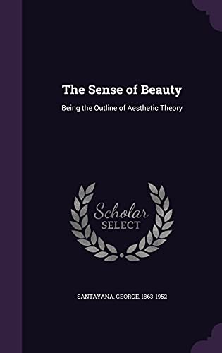 9781354342190: The Sense of Beauty: Being the Outline of Aesthetic Theory