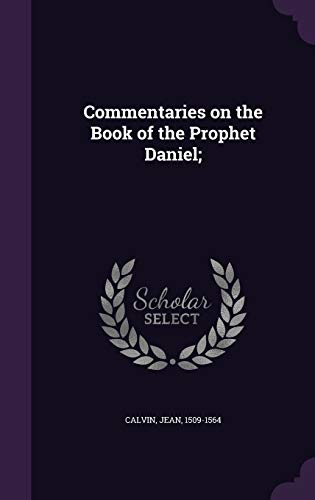 9781354442708: Commentaries on the Book of the Prophet Daniel;