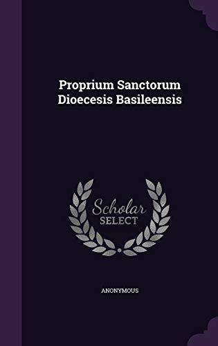 9781354619605: Proprium Sanctorum Dioecesis Basileensis