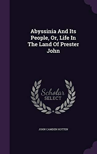 9781354681947: Abyssinia and Its People, Or, Life in the Land of Prester John
