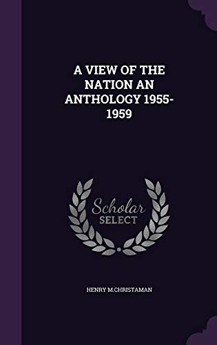 9781354735978: A View of the Nation an Anthology 1955-1959
