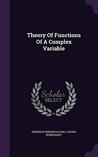 9781354754122: Theory of Functions of a Complex Variable