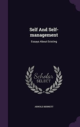 9781354791622: Self and Self-Management: Essays about Existing