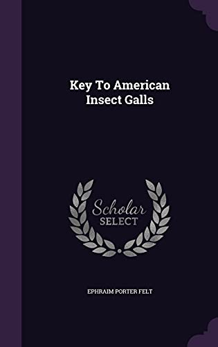 9781354794678: Key to American Insect Galls