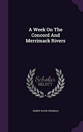 9781354859148: A Week on the Concord and Merrimack Rivers