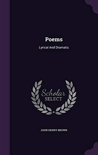9781354875889: Poems: Lyrical and Dramatic