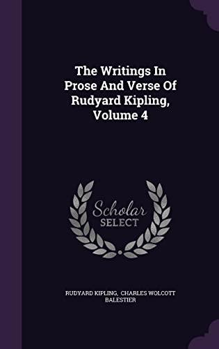 9781354938140: The Writings In Prose And Verse Of Rudyard Kipling, Volume 4