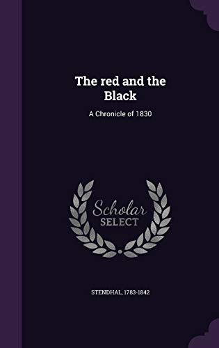 9781355035879: The Red and the Black: A Chronicle of 1830