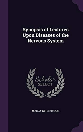 9781355239314: Synopsis of Lectures Upon Diseases of the Nervous System