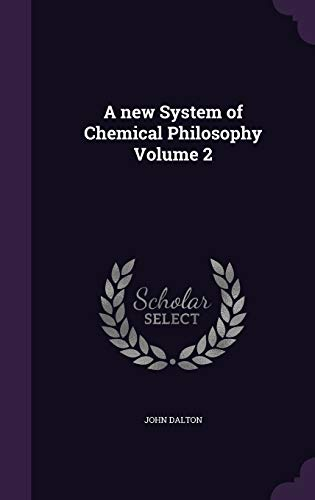 9781355279679: A New System of Chemical Philosophy Volume 2