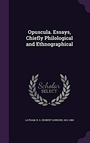9781355347903: Opuscula. Essays, Chiefly Philological and Ethnographical