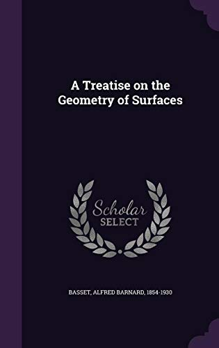 9781355439127: A Treatise on the Geometry of Surfaces