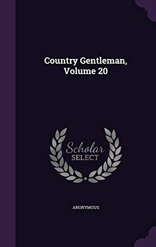 9781355679929: Country Gentleman, Volume 20