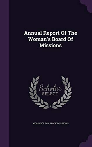9781355706410: Annual Report of the Woman's Board of Missions