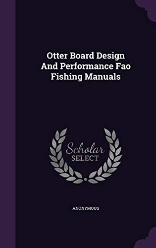 9781355726333: Otter Board Design and Performance Fao Fishing Manuals