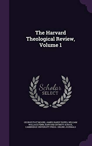 9781355782803: The Harvard Theological Review, Volume 1