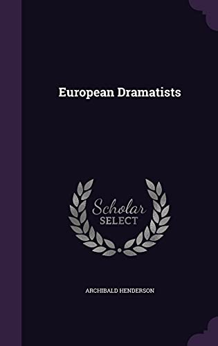 9781355803027: European Dramatists
