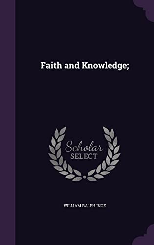 9781355881605: Faith and Knowledge;