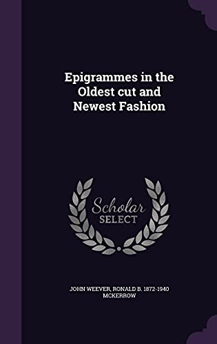 9781355939559: Epigrammes in the Oldest Cut and Newest Fashion