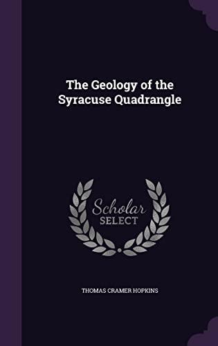 9781355971702: The Geology of the Syracuse Quadrangle