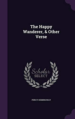 9781355988830: The Happy Wanderer, Other Verse