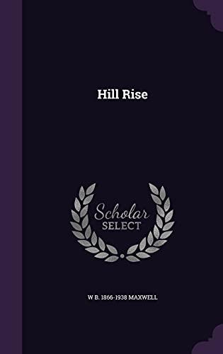 9781355992738: Hill Rise