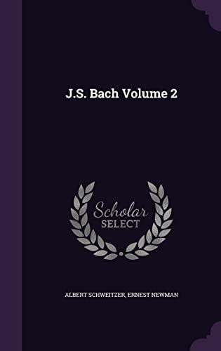 9781356037674: J.S. Bach Volume 2