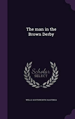 9781356073320: The Man in the Brown Derby