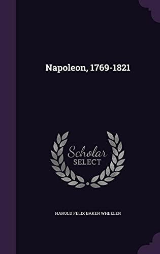 9781356106530: Napoleon, 1769-1821
