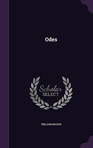 9781356121779: Odes