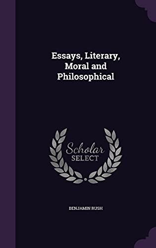 9781356153626: Essays, Literary, Moral and Philosophical