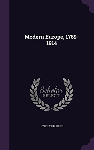 9781356275601: Modern Europe, 1789-1914