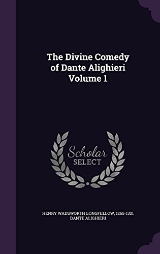 9781356279562: The Divine Comedy of Dante Alighieri Volume 1