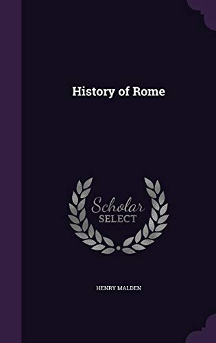 9781356301348: History of Rome