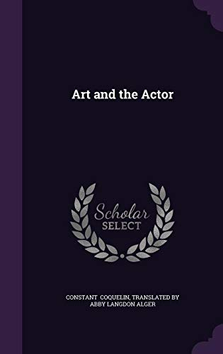 9781356494736: Art and the Actor