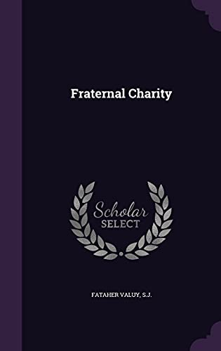 9781356516919: Fraternal Charity
