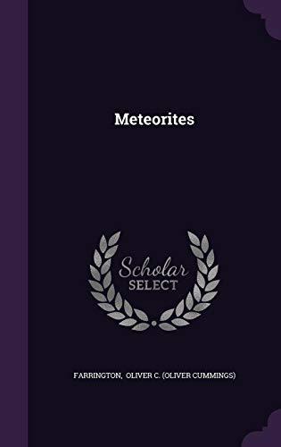 9781356575275: Meteorites